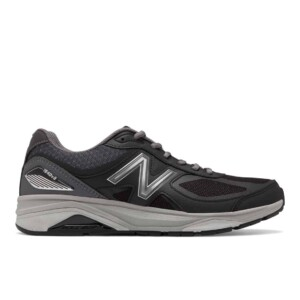New balance men's 1540v3 (black with castlerock, outside)
