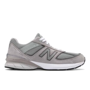 New Balance Men's 990v5 (Grey with Castlerock, Outside)