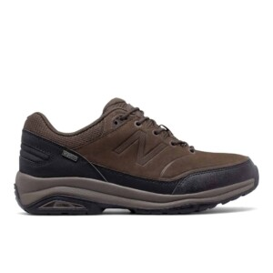 New Balance Men's 1300 (Chocolate with Black, Outside)