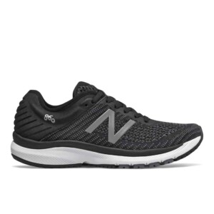 New Balance Women's 860v10 (Black with Gunmetal & Lead, Outside)