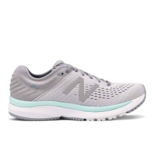 New Balance Women's 860v10 (Steel with Light Aluminum & Light Reef, Outside)