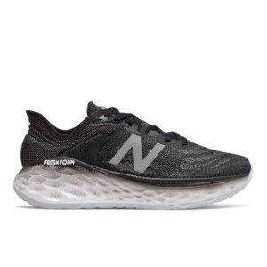 New Balance Women's Fresh Foam More v2 (Black with Outerspace, Outside)