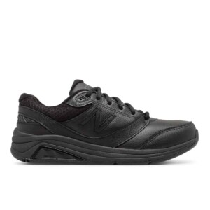 New Balance Women's Leather 928v3 (Black, Outside)