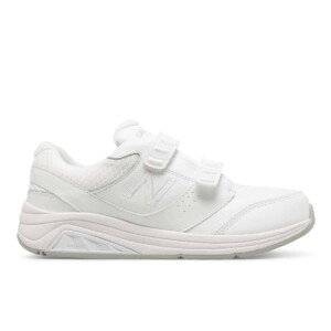 New balance women's hook & loop leather 928v3 (white, outside)
