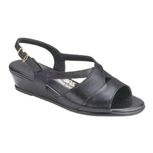 Sas womens caress black 0112 013 1