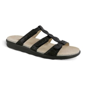 Sas womens naples nero snake 1