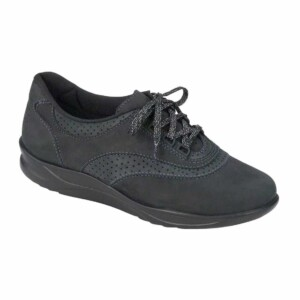Sas womens walk easy nero charcoal nubuck 2380 237 1